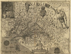 JohnSmith 1612 map Chesapeake
